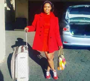 Zahara Blesses Herself With A Brand New Fancy Car (Photos)